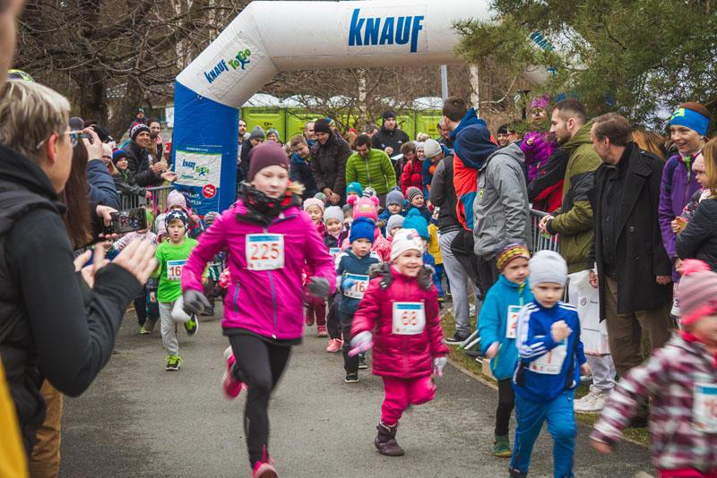 Registrace na dětské běhy